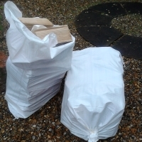 Seasoned Kent Logs for Open Fires - Chunky Carry bag