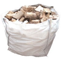 Seasoned Kent Chestnut for Wood Burning Stoves - 1m3 Large Dumpy Bag