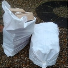 Premium Seasoned Kent Logs for Open Fires - Chunky Carry Bag