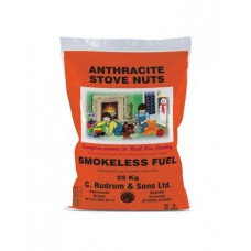 Anthracite Large Nuts  (Stove Nuts) 25kg