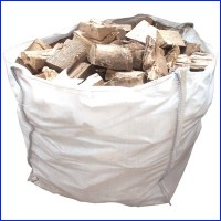Premium Seasoned Kent Logs for Wood Burning Stoves - 1m3 Large Dumpy Bag