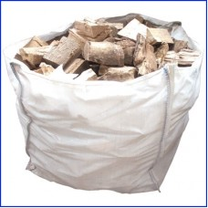 Seasoned Kent Logs for Wood Burning Stoves - 1m3 Large Dumpy Bag